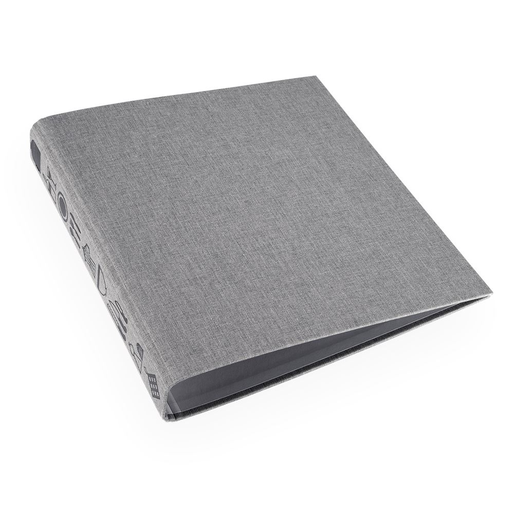 Recipe binder Light grey Trio