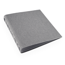 Ringbinder A4 RETRO Kitchen Record light grey trio black embossing