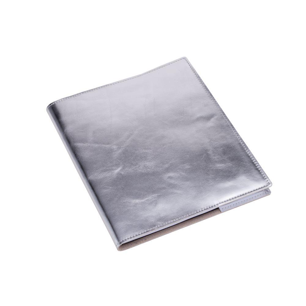 Bokomslag i Läder, Silver