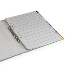 Tabs Multi color with grey Index A4 trio