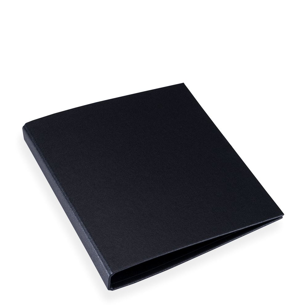 Menu binder, black