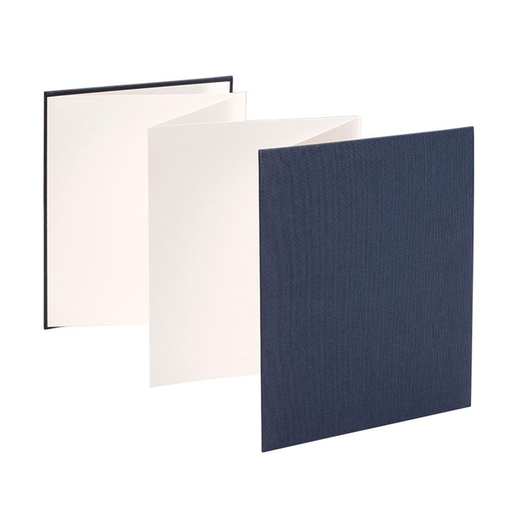 Accordion photo 150*187 Iris Smoke blue white sheets