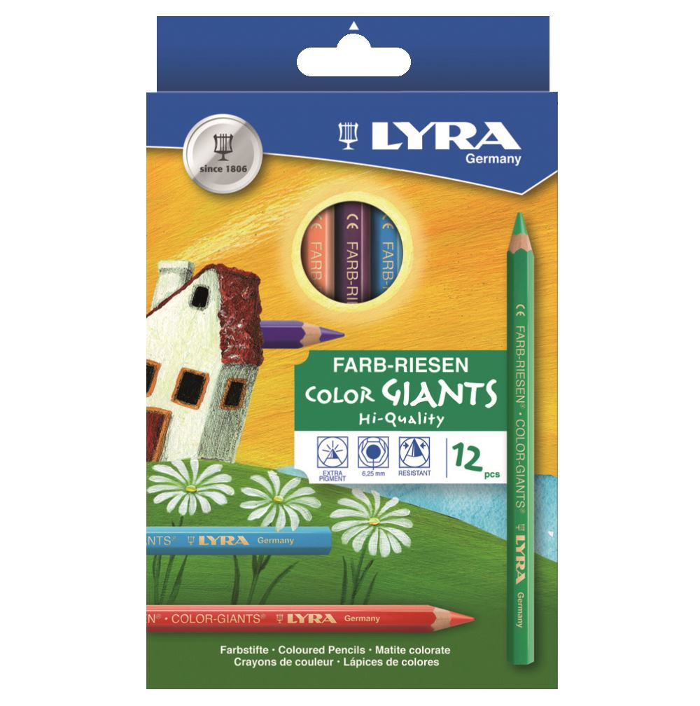 Color Giant lackad 12-pack