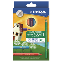 Boîte de 12 crayons de couleur