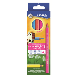 Color Giant Box with 6 Pens