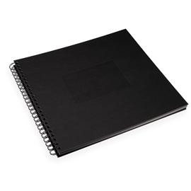 Photo album paper cover, Black