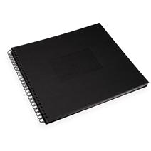Fotoalbum mit Papiereinband, Black