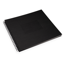 Photo album paper cover, Black