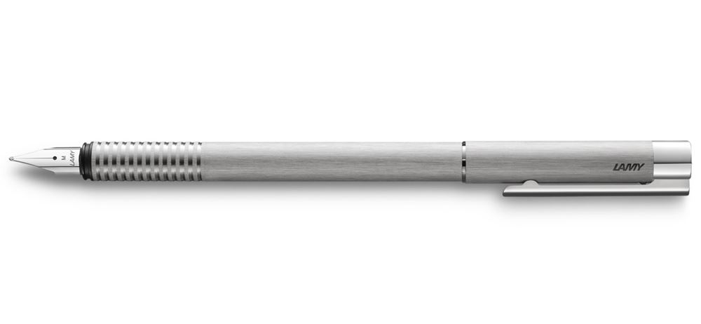 LAMY logo Fountain Pen Brushed