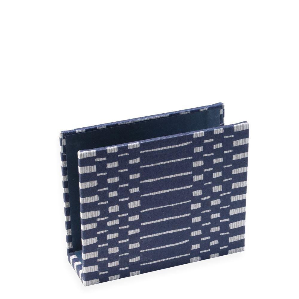 Briefhalter,  Helios Blue, blau innen