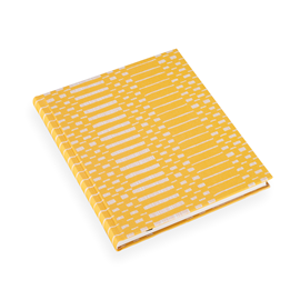 Carnet toilé, Helios Yellow