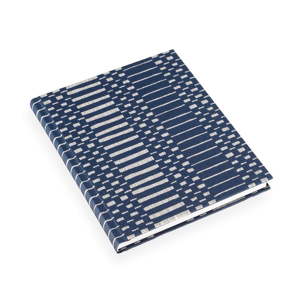 Notizbuch gebunden, Helios Blue
