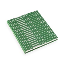 Notebook hardcover, Helios Green