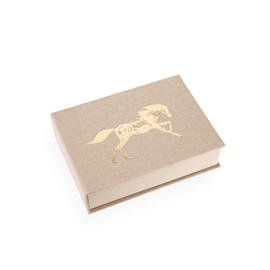 Boîte toilée, record sandbrown x Get the Gallop