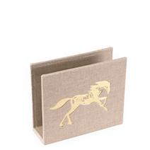 Briefhalter,  Sand brown - Get the Gallop