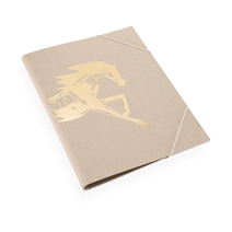 Folder, Sand brown- Get the Gallop