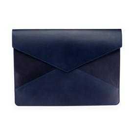 Enveloppe en cuir, Dark blue