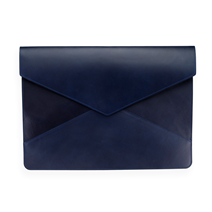Ledermappe, Dark Blue