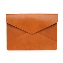 Envelope Leather Case, Cognac