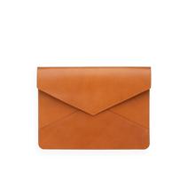 Kuvertformat Läderfodral, Cognac