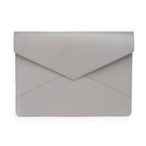 Enveloppe en cuir, Light grey