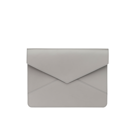 Envelope Leather Case, Light Grey