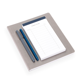 To do List et carnet souple, Smoke Blue, Dark grey
