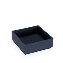Bedside table box, Smoke blue