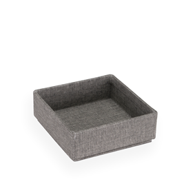Stapelbare Box, Pebble Grey