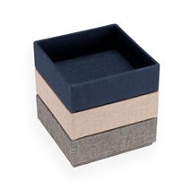 Geschenkset Stapelbare Boxen, Smoke Blue/Light Grey/Sand