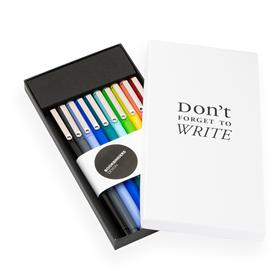 Le pen, 10 different colours