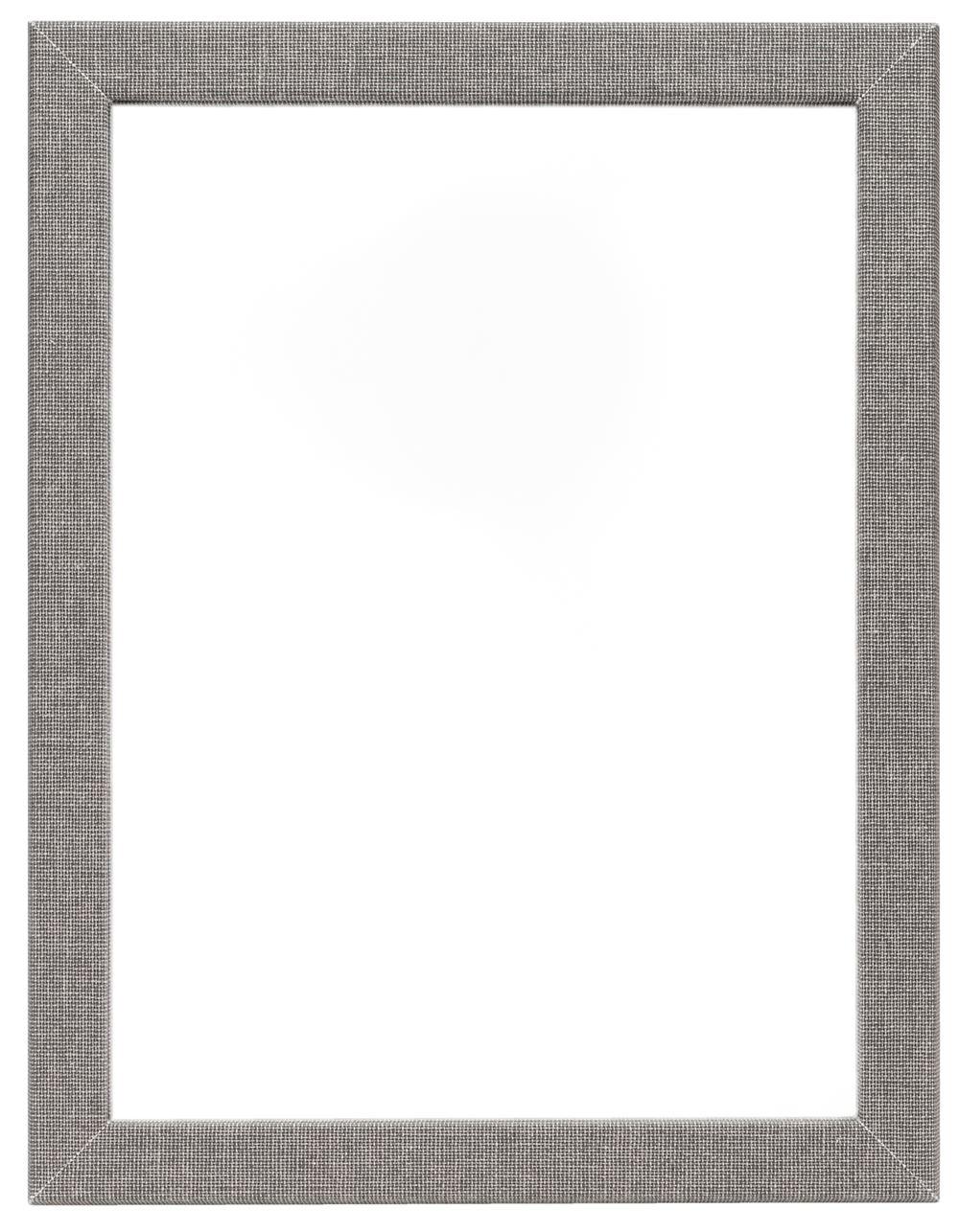 Vävklädd spegel, Ljusgrå