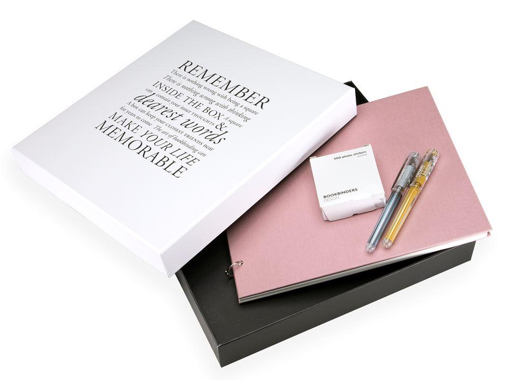 Columbus album kit, Dusty Pink
