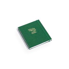 Notizbuch mit Ringbindung, Green - Get the Gallop