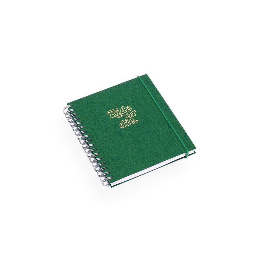 Notizbuch mit Ringbindung, Clover Green - Get the Gallop