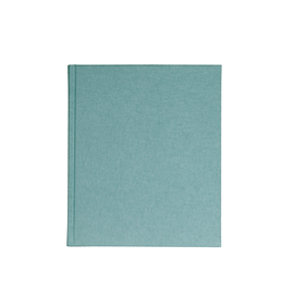 Carnet en toile, dusty green