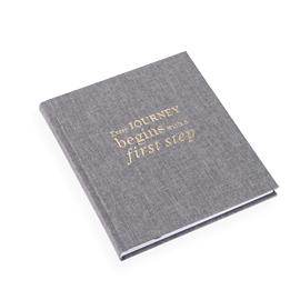 Notebook Hardcover, Pebble Grey Size 17 x 20 cm