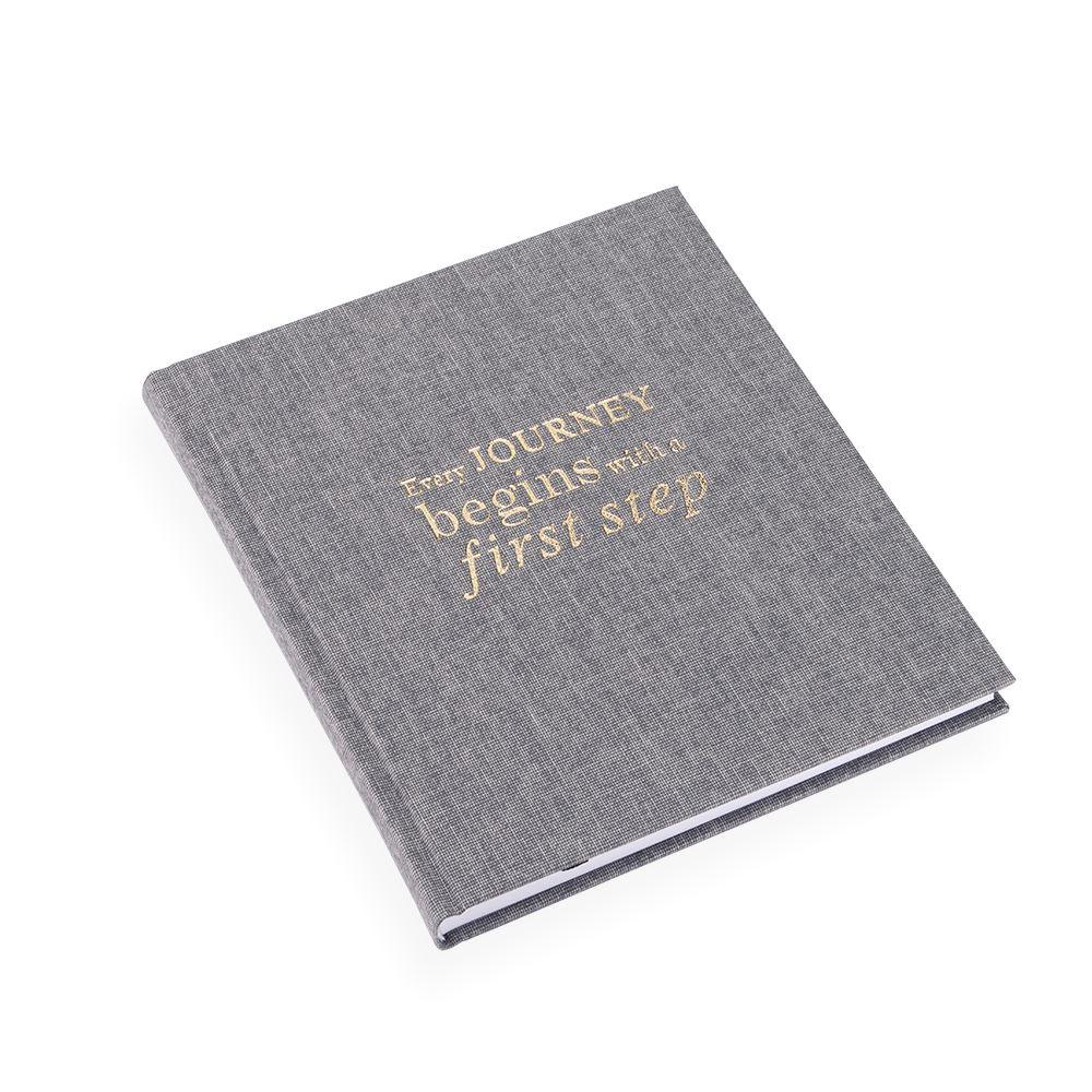 Notizbuch gebunden, Pebble Grey