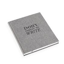 Notebook Hardcover, Pebble Grey