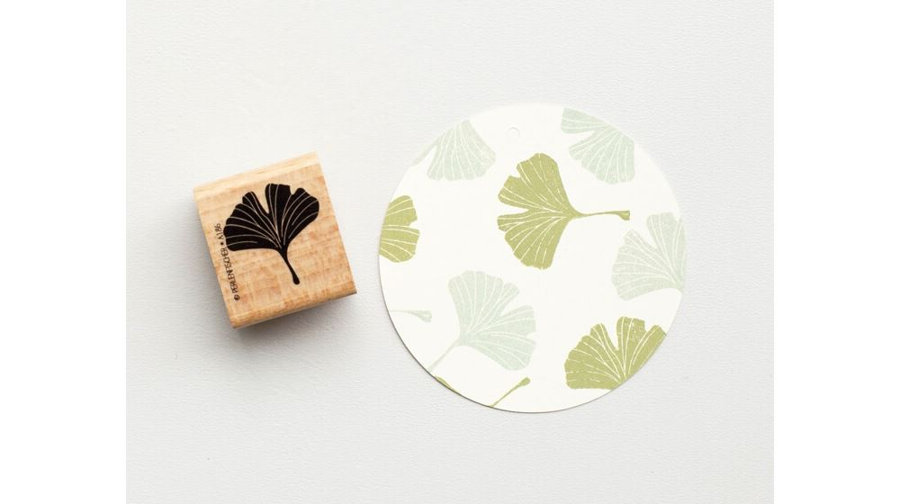 Stamp Ginko leaf full