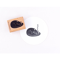 Stamp Dreaming cat