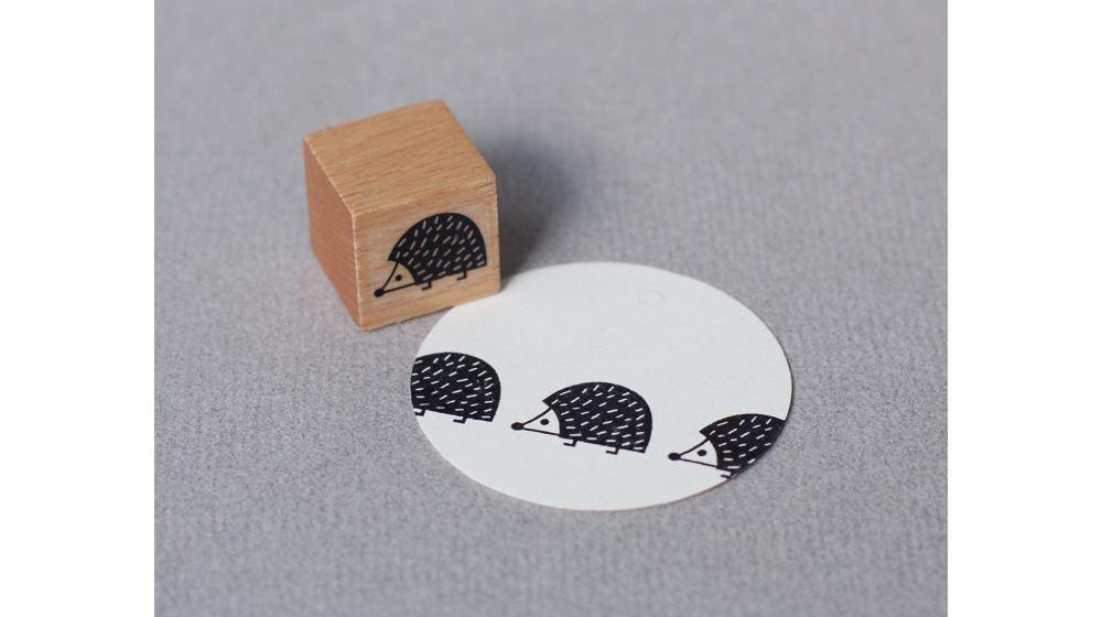 Stamp Hedgehog baby