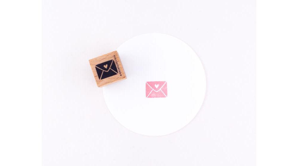 Stamp Love letter