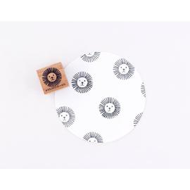 Stamp Lion head