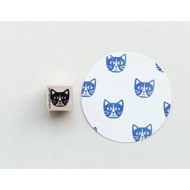Stamp Cat Head