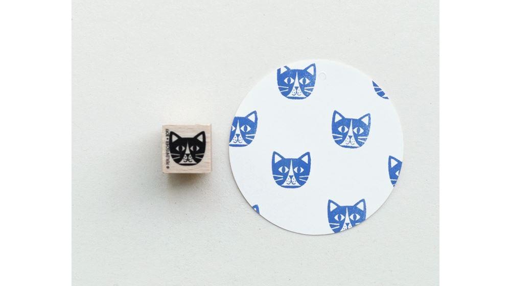 Stamp Cat Head