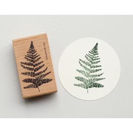 Stamp Fern leaf