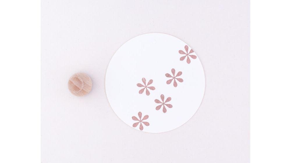 Stamp Simple flower