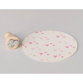 Stamp Heart confetti