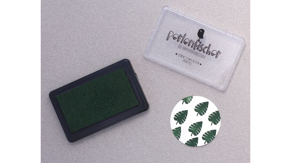 Ink pad Pine green